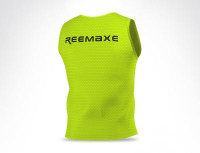 Fluorescent YellowTraining Vest Bib