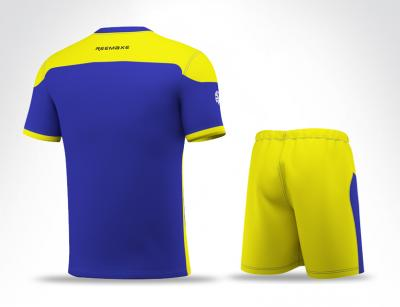 Sublimation Yellow Soccer Set