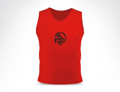 Orange Training Vest Bib