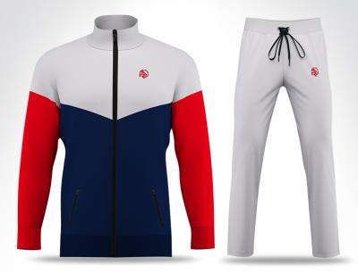 Pro Blue & Red Track Suit