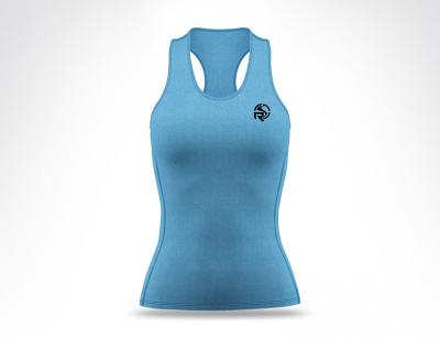 Sky Two Tone Ladies Tank Top